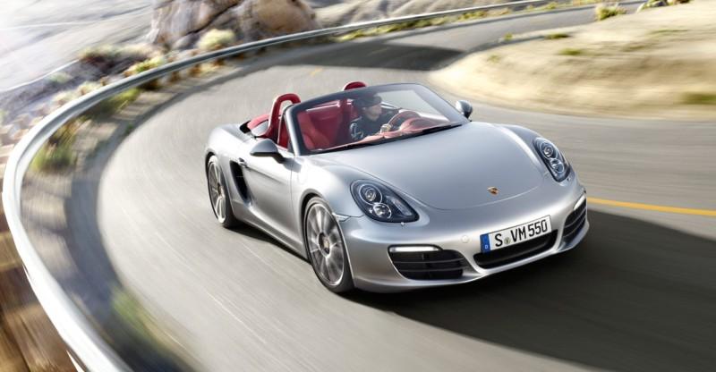 Porsche Boxster exterior