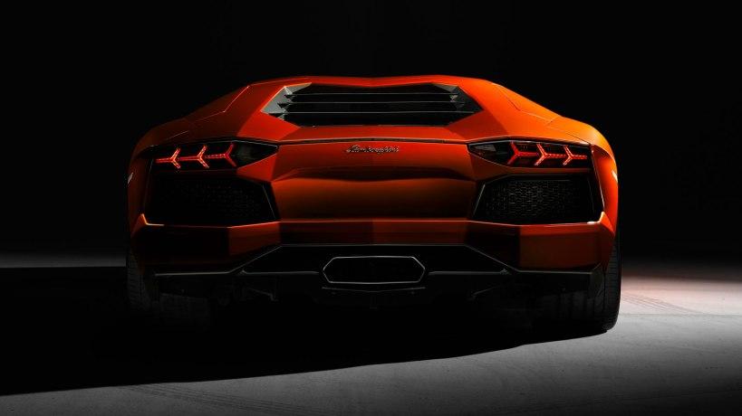 Lamborghini Aventrador exhaust