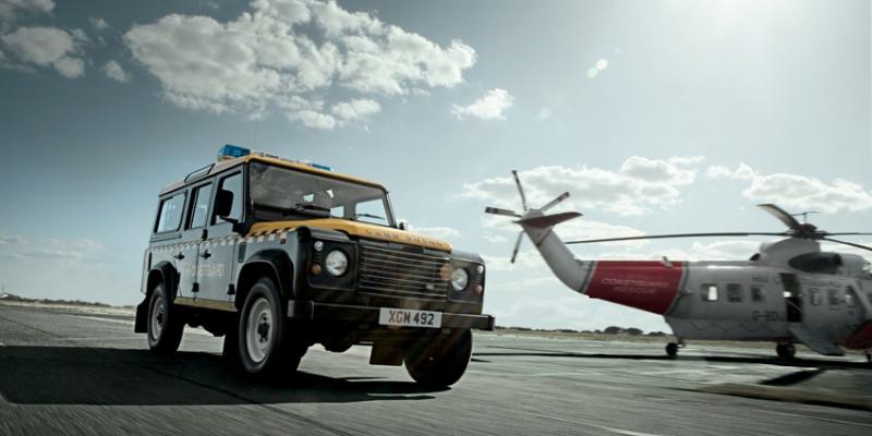 Land Rover defender body
