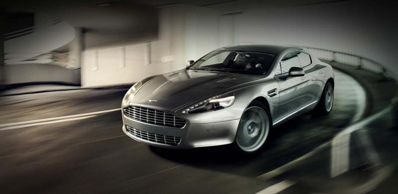Aston Martin Rapide body