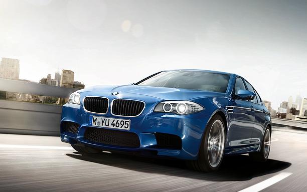 BMW M5 exterior F10