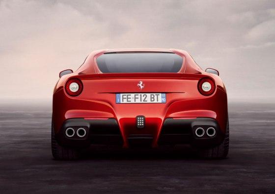 Ferrari F12 diffuser
