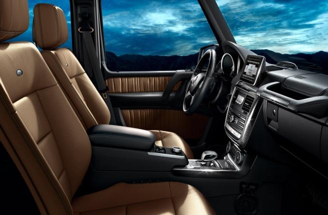 Mercedes-Benz G-class Dash