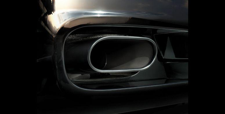 Maserati Quattroporte GTS muffler