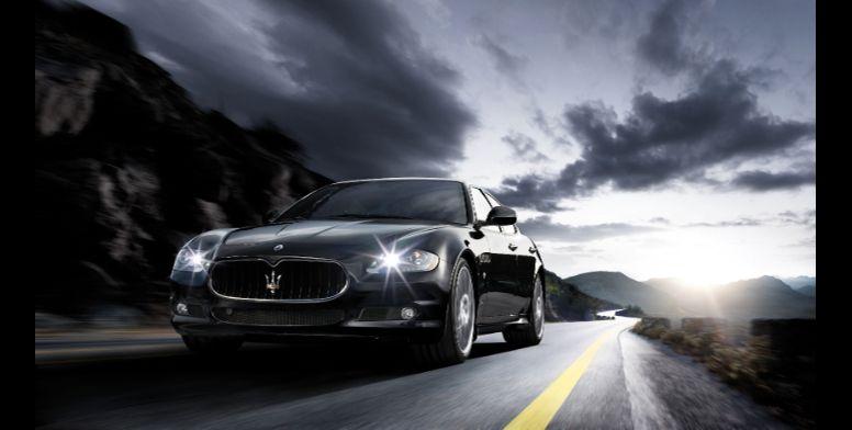 Maserati Quattroporte GTS body