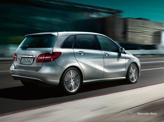 Mercedes-Benz B Class body