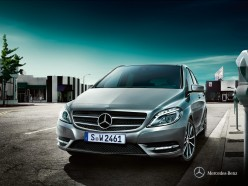 Mercedes-Benz B Class exterior