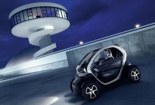 Renault Twizy Oscar Niemeyer Center