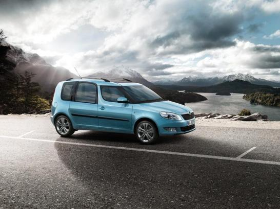 Skoda Roomster exterior
