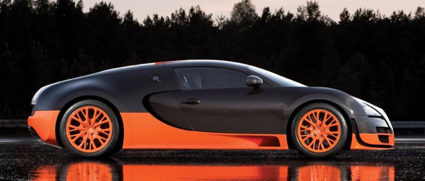 Bugatti Veyron Super Sport world record
