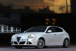 Alfa Romeo Guilietta white