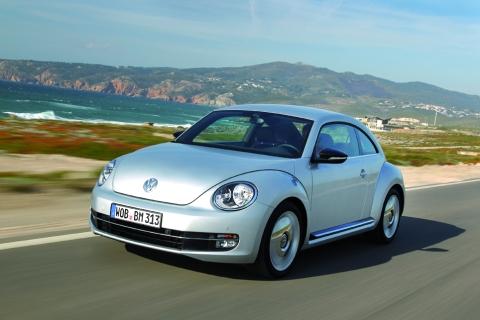 Volkswagen Beetle blue
