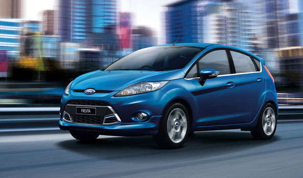 Ford Fiesta  shape