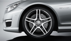 CL 63 AMG brakes