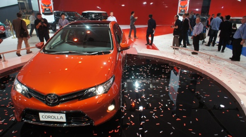 New Toyota Corolla Australian International Motor Show
