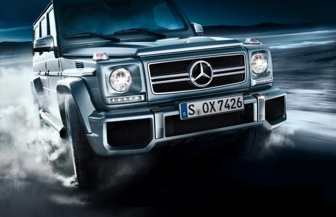 Mercedes-Benz G63 AMG exterior