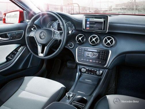 Mercedes Benz A Class interior