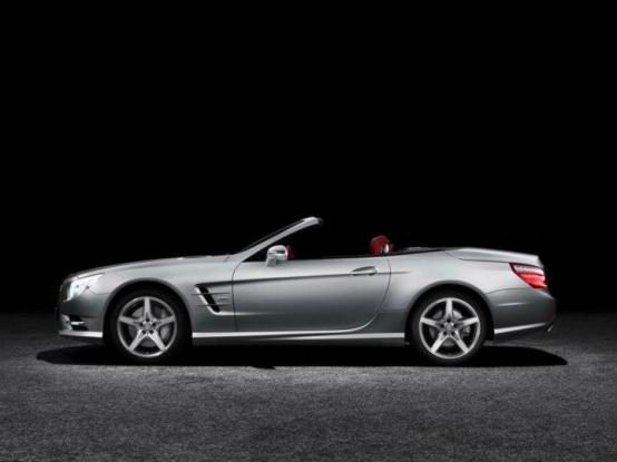 SL 500 rear