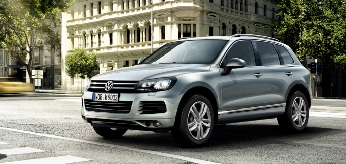 Volkswagen Touareg exteior