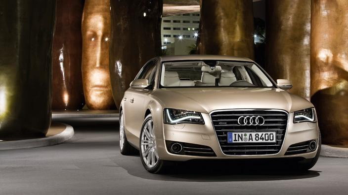 Audi A8 exterior