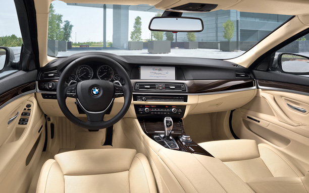 BMW 5 series dash
