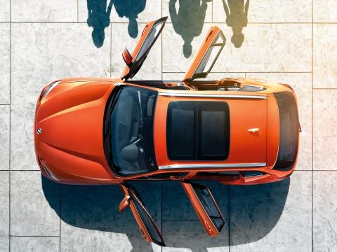 BMW X1 sky view