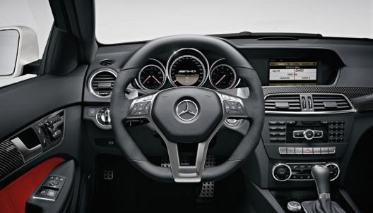 Mercedes-Benz C63 interior