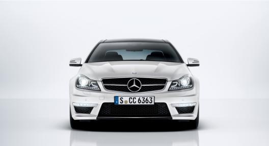 Mercedes-Benz C63 front