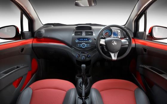 Holden Barina Spark dash