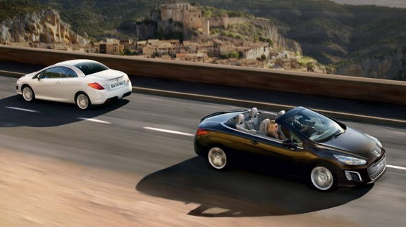 Peugeot 308 CC exterior