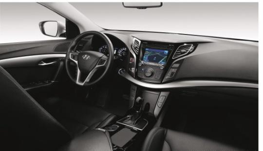 Hyundai i40 dash