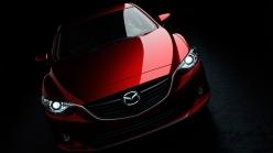 Mazda 6 red