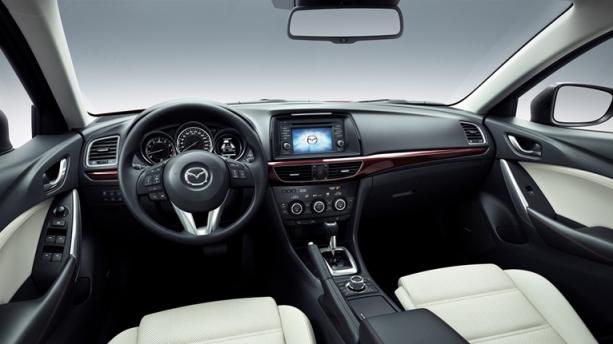 Mazda 6 dash