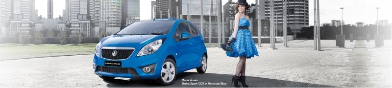Holden Barina Spark exterior