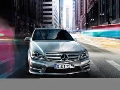 Mercedes C Class silver