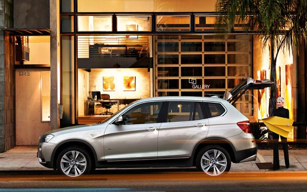 BMW X3 body