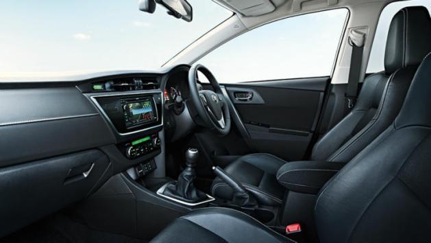Toyota Corolla dash