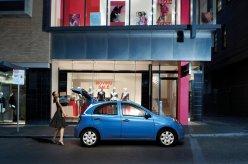 Nissan Micra blue