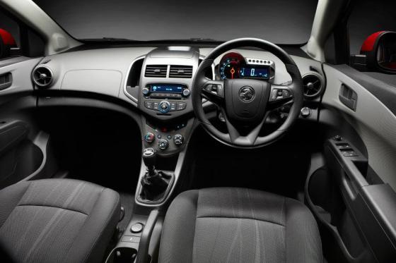 Holden Barina interior
