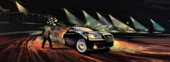 Chrysler 300 racetrack