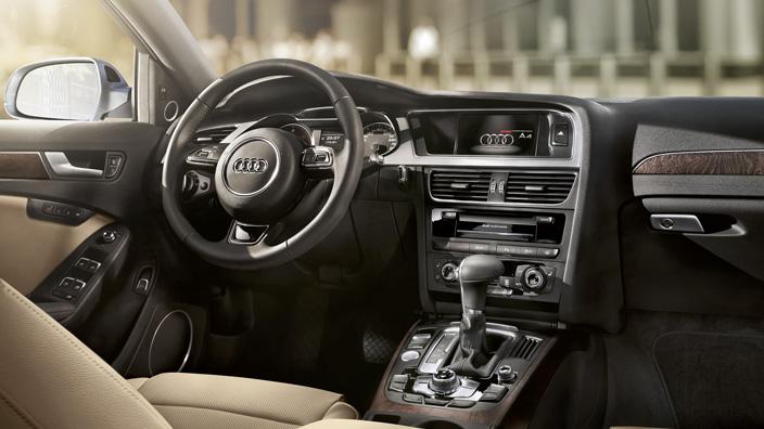Audi A4 dash