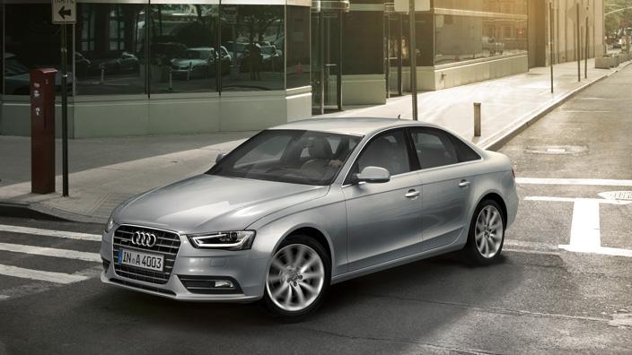 Audi A4 exterior