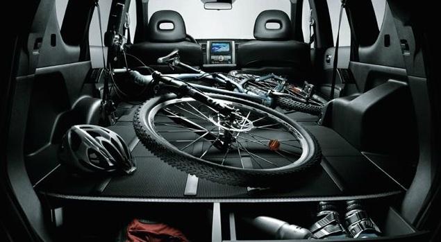Nissan X-Trail seats down