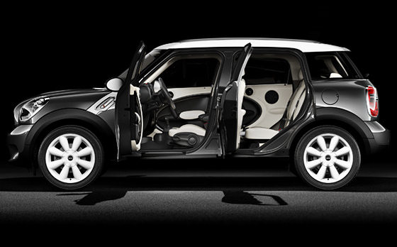 Mini Countryman black