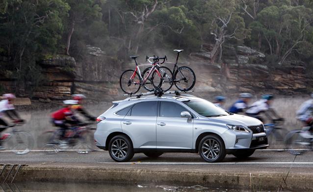 Lexus RX bikes