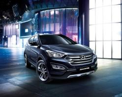 Hyundai Santa Fe exterior new