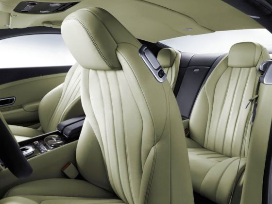 Bentley continental GT seats