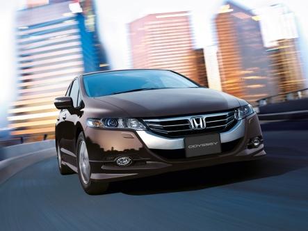 Honda Odyssey exterior