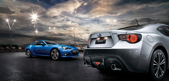 Subaru BRZ lightining