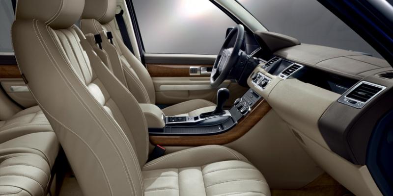 Range Rover Sport dash